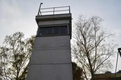 Soviet guard tower