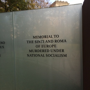 Memorial to Murdered Roma & Senti