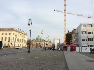 Construction on Unter den Linden