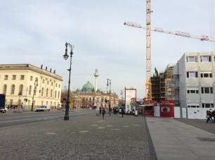 Construction on Unter den Linden