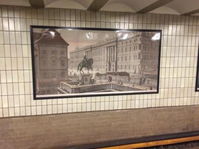 Hausvogteiplatz tile painting from turn of the century
