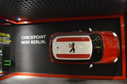 Checkpoint Charlie Mini on Friedrichstrasse