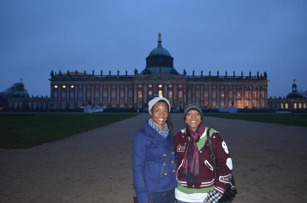 At the New Palace