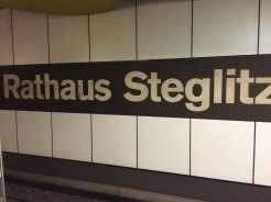 Steglitz- our old stomping grounds