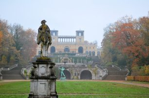 The Orangerie and Frederick II statue