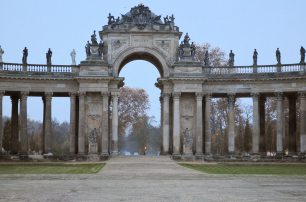 Sanssouci- behind the New Palace