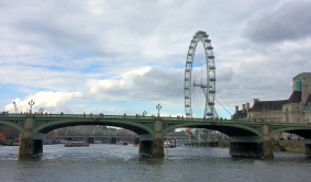 Westminster Bridge and London Eye