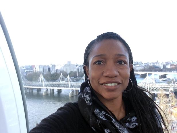 London Eye Views: Millennium Bridge