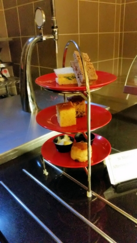 Afternoon tea assortment