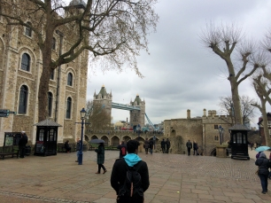 Tower of London Courtyard