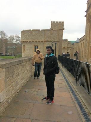 Tower of London- Wall Walk