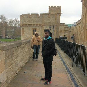 Tower of London- Wall Walk
