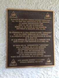 20th Armored Div 'Liberators' commemoration