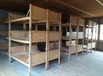 Beds for camp prisoners