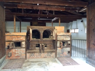 Inside the old crematorium