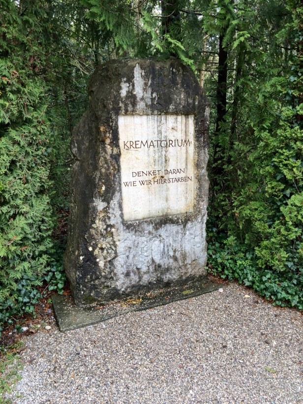 Crematorium memorial marker