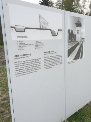 Illustration of the workings of the perimeter fence