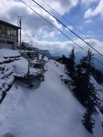 Standing on top of Mount Tegelberg
