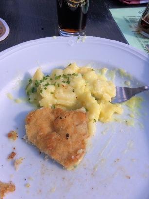 Schnitzel and Kartoffelsalat