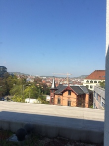 Stuttgart city view